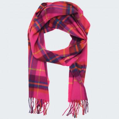 Avoca Merino Wool Pink Scarf