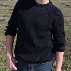 Peregrine Navy Ford Sweater