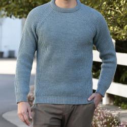 Peregrine Blue Glacier Ford Sweater