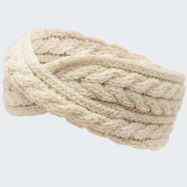 Aran Woollen Mills Aran Ecru Headband