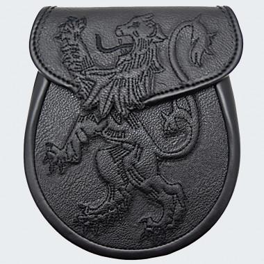 Lion Semi Leather Sporran
