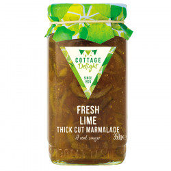 Cottage Delight Fresh Lime Marmelade 350g