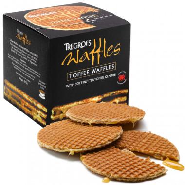 Gaufres Coeur Caramel Tregroes Waffles 260g