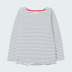 Tom Joule Navy Ecru Striped Shirt Harbour