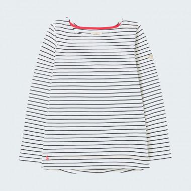 Tom Joule Navy Ecru Striped Shirt Harbour