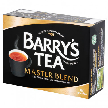 Barry's Tea Master Blend 80 teabags 250g