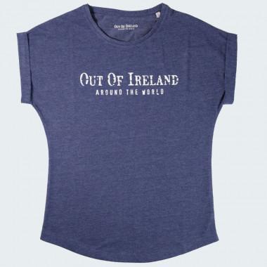 T-shirt Bleu Out Of Ireland