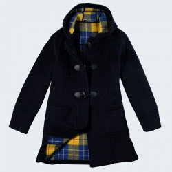 Duffle-Coat anglais Marine London Tradition