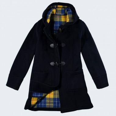 London Tradition Navy Duffle-Coat Fiona