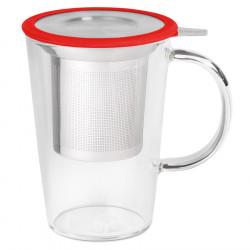 Whittard of Chelsea Glass Pao Teapot Mug 400ml