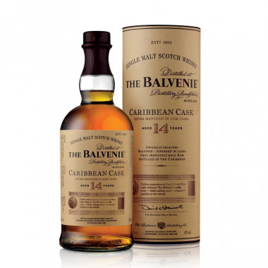 Whisky Balvenie 14 ans Caribbean Cask 70cl 43°