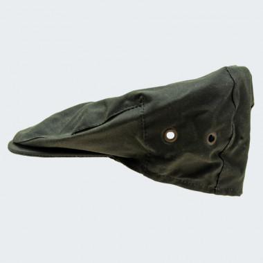 Hanna Hats Olive Vintage Cap Waxed