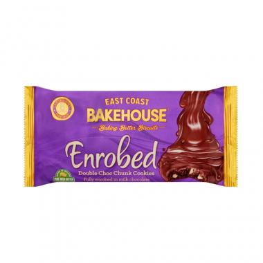East Coast Bakehouse Enrobed Double Choc Chunk Cookies 170g