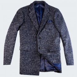 Out Of Ireland Navy Heather Effect Jacket
