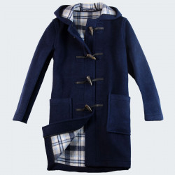Duffle-Coat Angela Bleu London Tradition