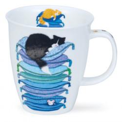 Dunoon Jumbo Sleepy Cats Mug 480ml