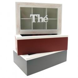 6 Box Wooden Tea Box