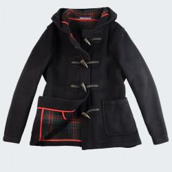 London Tradition Navy Melissa Short Duffle-Coat