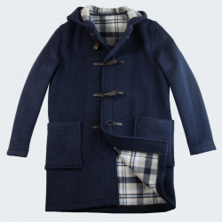 London Tradition Blue Joseph Duffle-Coat