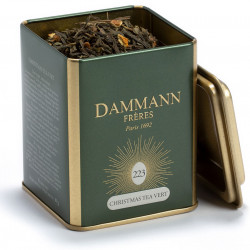 Christmas Green Tea Box Dammann 80g