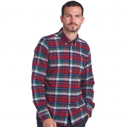Chemise Highland Check Rouge Barbour
