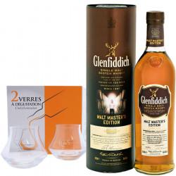 Glenfiddich Master's Malt 70cl 43 ° pack + 2 Tasting Glasses