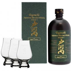 Togouchi 9 ans 70cl 40° + 4 verres