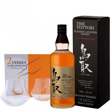 The Tottori Blended Japanese Whisky Bourbon Barrel 50cl 43°