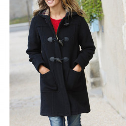 Duffle-Coat Fiona Noir London Tradition