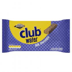 Club wafer milk choc 108g