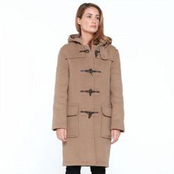 London Tradition Camel Emily Duffle-Coat