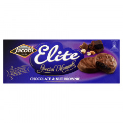 Biscuits Elite Chocolat brownie 145g Jacob's