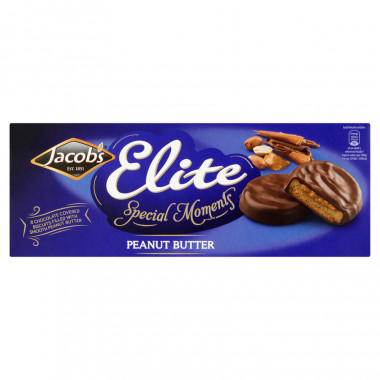 Biscuits Elite au Beurre de Cacahuète 145g Jacob's