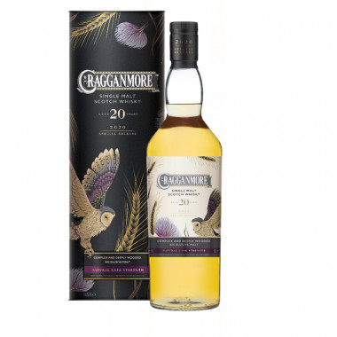 Cragganmore 20 years old 70cl 55.8°