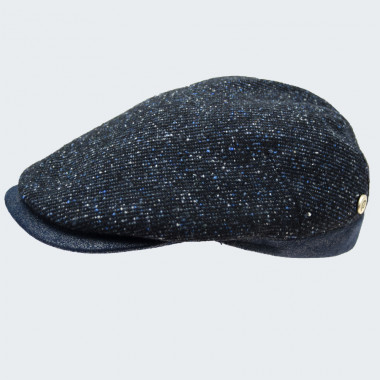 Celtic Alliance Navy Tweed Cap
