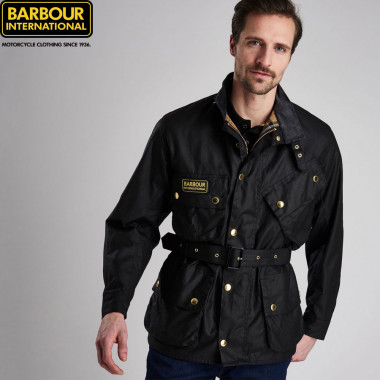 Barbour International Black Jacket