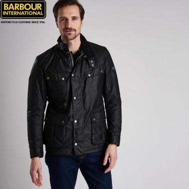 Barbour International Duke Black Jacket