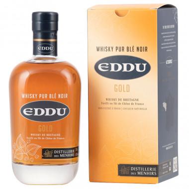 Whisky Eddu Gold Pur Blé Noir 70cl 43°