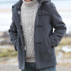 Duffle-Coat Giles Gris London Tradition