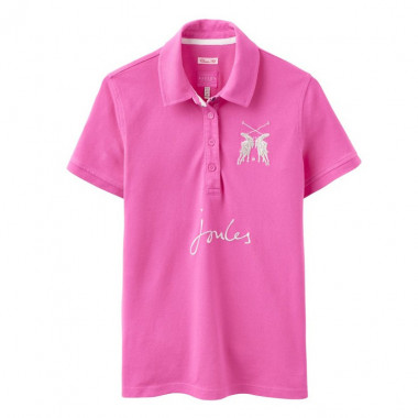 Polo Maille Piquée Rose Tom Joule