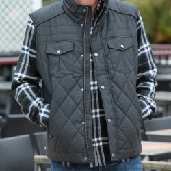 Out Of Ireland Quilted Waistcoat