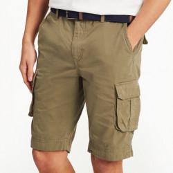 Tom Joule Cotton Khaki Cargo Shorts
