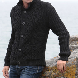 Peregrine Anthracite Buttoned Jacket