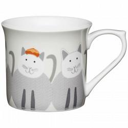 Cats Flute Mug 300ml