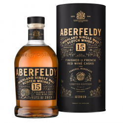 Aberfeldy 15 ans Pomerol Finish 70cl 43°