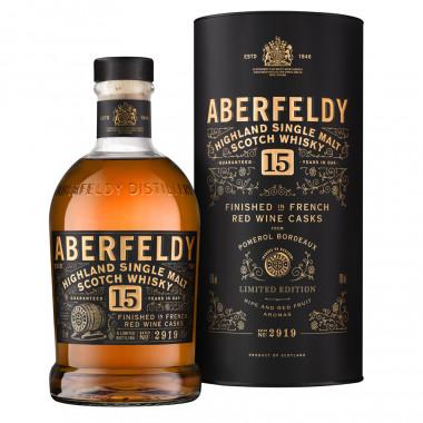 Aberfeldy 15 ans Pomerol Finish 70cl 43°