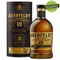 Aberfeldy 18 ans 70cl 46°