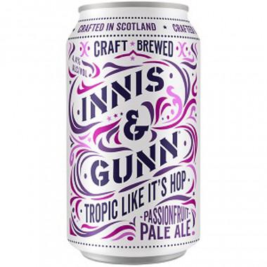 Innis & gunn tropic like it's hop passion fruit pale ale 33cl 4.4�