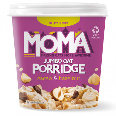 Pot Porridge Cacao Noisettes MOMA 65g