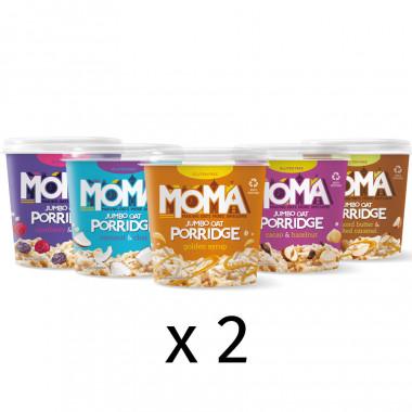 MOMA Porridges 10 Pots Pack